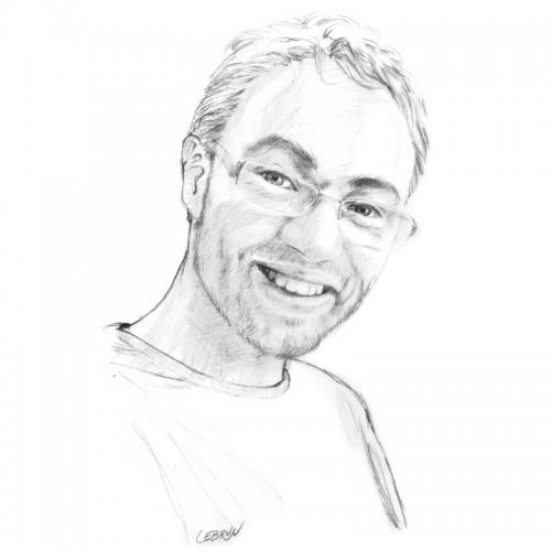 Portrait graphique - Fichier numérique à télécharger